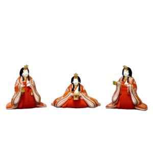 雛人形 幸一光 ひな人形 コンパクト 雛 木目込人形飾り 官女単品 官女セット 大 人形のみ 正絹 受注生産 h033-koi-4133|asutsuku-ningyoya