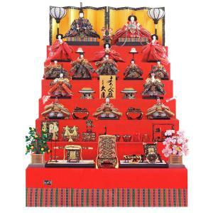 雛人形 久月 ひな人形 雛 七段飾り 十五人飾り よろこび雛 九番親王 大三五揃 h023-k-7020 D-25|asutsuku-ningyoya