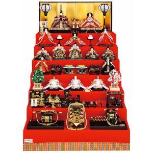 雛人形 吉徳大光 ひな人形 雛 七段飾り 十五人飾り 福寿雛 十番親王 三五 h023-ys-302022|asutsuku-ningyoya