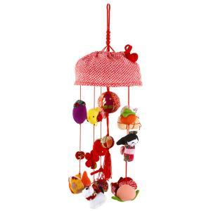 雛人形 ひな人形 雛 つるし雛 つるし飾り 小 飾り単品 h263-rt-601s-351w|asutsuku-ningyoya