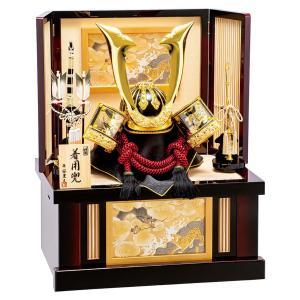 五月人形 豊久 着用 兜収納飾り 兜飾り 皇帝 25号 h025-mo-502379 GE-119|asutsuku-ningyoya