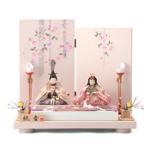 雛人形 コンパクト ひな人形 雛 平飾り 親王飾り 紙音 h...