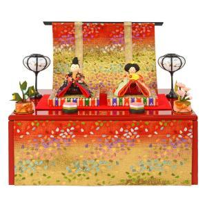 雛人形 リュウコドウ ひな人形 雛 コンパクト収納飾り 親王...