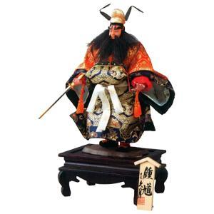 五月人形 久月 鍾馗人形 平飾り 武者人形 5号 極上鍾馗 h025-k-s562 K-133|asutsuku-ningyoya