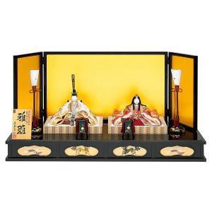 雛人形 真多呂 ひな人形 雛 木目込人形飾り 平飾り 親王飾り 真多呂作 帯地本金 雅雛セット 正絹 伝統的工芸品 h023-mt-1830|asutsuku-ningyoya