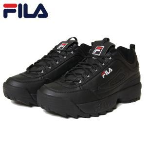 FILA フィラ シューズ DISRUPTOR 2 F0215 BLACK    ブラック 26.5...