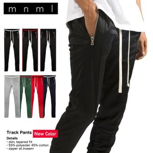 mnml トラックパンツ ラインパンツ ミニマル TRACK PANTS 17ML-AW271P