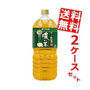 送料無料 伊藤園 お〜いお茶 濃い茶 2Lペットボトル 12本 (6本×2ケース) (おーいお茶 濃いお茶)|at-cvs