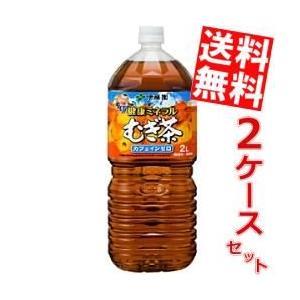 『送料無料』伊藤園 健康ミネラルむぎ茶 2Lペットボトル 12本 (6本×2ケース)(ミネラル麦茶)