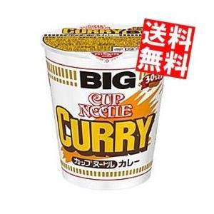 送料無料 日清 119gカップヌードル カレー BIGビッグ 12食入