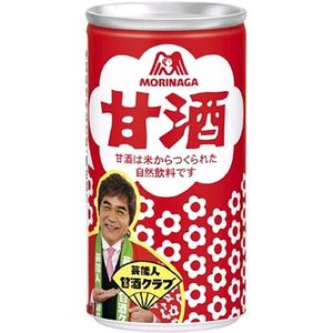『送料無料』森永製菓 甘酒 190g缶 30本入の商品画像