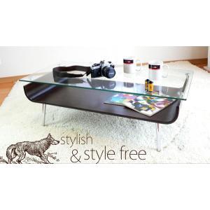 ガラステーブル ガラスローテーブル|at-emoor