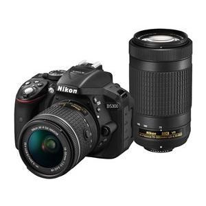 D5300 AF-P ダブルズームキット  デジタル一眼カメ...