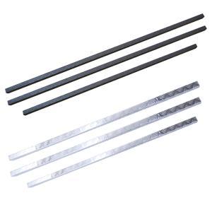 2t車 ダブルキャブ トラック 汎用  あおりガード あおりカバー リアゲートプロテクター アルミ縞...