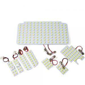 ハイエース 200系 5型 専用 パーツ LED ルームランプ 9点セット 超高輝度 SMD225灯 車内泊 室内灯 内装パーツ