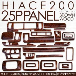 ハイエース 200系 パーツ 標準用 インテリアパネル 25Pセット 3Dパネル 1型/2型/3型前期/3型後期 DX/SGL 内装パーツ|at-parts7117|04