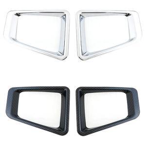 新型 ジムニー JB64W/ フォグカバー フォグランプカバー ガーニッシュ フロント フォグ ライト カバー 全2色 アクセサリー カスタム 外装パーツ|at-parts7117