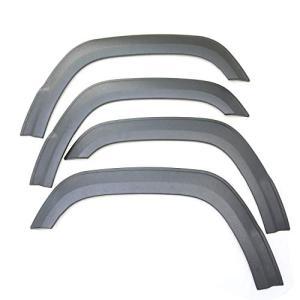 新型 ジムニー JB64W オーバーフェンダー ワイドフェンダー ビスなしタイプ ABS素材 ブラッ...