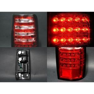 ランドクルーザー 80 ランクル 80系 LED テールランプ 全2タイプ クリア/スモーク テール カスタム 外装パーツ at-parts7117 02