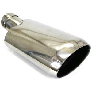 プリウスα 40系 マフラーカッター オーバル型 アクセサリー ステンレス メッキ マフラー ZVW...