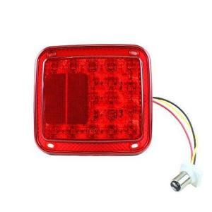 トラック用 LED テールランプ ダブル球 23LED バックランプ トラックテール トラック用品 ...