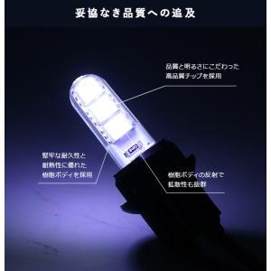 T10 LEDバルブ 3chip PVC製 樹...の詳細画像4