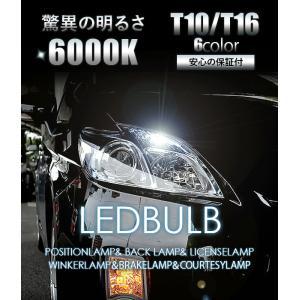 T10 LEDバルブ 透明レンズ キャッツアイ仕様 12V 80LM 2個セット 全6色 ポジション球 バックランプ ルームランプ ナンバー灯 ライセンスランプ|at-parts7117|02