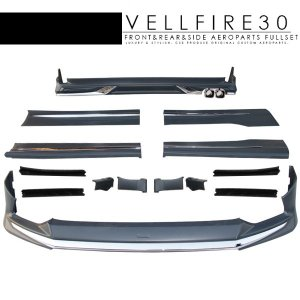 ヴェルファイア30 Ver1 フルエアロキット 未塗装 エア...
