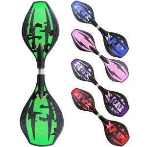 エスボード ミニモデル 子供用/携帯用ケース付き 光るタイヤ仕様 スケボー 2輪 子ども用スケートボード 迷彩 全5色