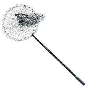 タモ 網 アルミ製 伸縮式 大型タイプ 2段階調整 タモ網 ランディングネット たも網 290cm ...