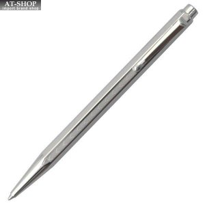 CARAN d'ACHE カランダッシュ ボールペン エクリドール シェブロン ロジウム YN0890-286|at-shop