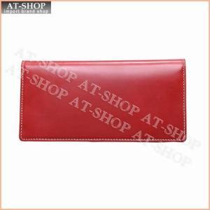 ブリティシュグリーン BRITISH GREEN 財布 ブライドルレザー長財布 10020006 レッド|at-shop