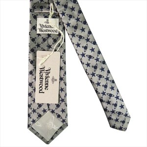 Vivienne Westwood ヴィヴィアン・ウェストウッド ネクタイ スリム約7cm オーブ柄 10041-CS-P241 GREY slim|at-shop|04