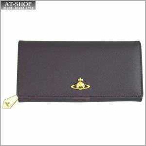Vivienne Westwood ヴィヴィアン・ウェストウッド 財布サイフ レザー 二つ折り長財布 ビオラ 1032v30v VIOLA|at-shop