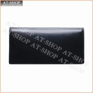 ブリティシュグリーン BRITISH GREEN 財布 ダブルブライドルレザー長財布 10370001 ブラック×ブラウン|at-shop