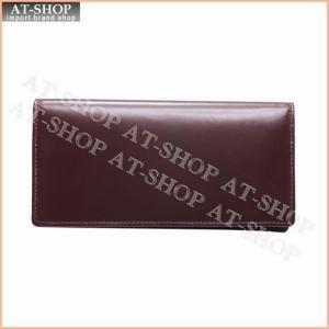 ブリティシュグリーン BRITISH GREEN 財布 ダブルブライドルレザー長財布 10370003 バーガンディ×ブラウン|at-shop