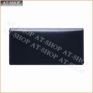 ブリティシュグリーン BRITISH GREEN 財布 ダブルブライドルレザー長財布 10370004 ネイビー×ブルー|at-shop