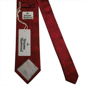 Vivienne Westwood ヴィヴィアン・ウェストウッド ネクタイ 8.5cm ドット柄 10616-H201-RED at-shop 03
