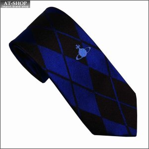 Vivienne Westwood ヴィヴィアン・ウェストウッド ネクタイ 8.5cm チェック柄 10619-K201-BLUE-LIGHT-BLUE at-shop