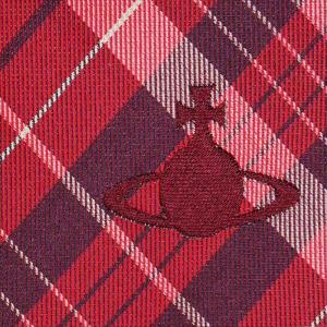 Vivienne Westwood ヴィヴィアン・ウェストウッド ネクタイ 8.5cm チェック柄 11127-H201-RED at-shop 04