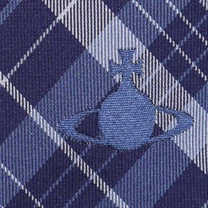 Vivienne Westwood ヴィヴィアン・ウェストウッド ネクタイ 8.5cm チェック柄 11127-K202-DARKBLUE at-shop 04