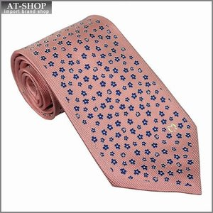 Mila schon ミラショーン ネクタイ 9cm 小紋柄 ピンク系 11406color3|at-shop