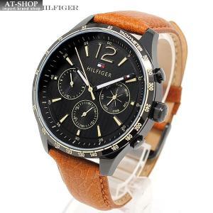 TOMMY HILFIGER トミーヒルフィガー 腕時計 レザー メンズ 1791470|at-shop