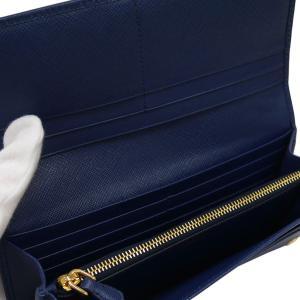PRADA プラダ 財布サイフ サフィアーノ パスケース付き 二つ折り長財布 ブルー 1MH132 F0016 BLUETTE QWA SAFFIANO METAL ORO|at-shop|04