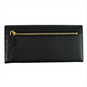 PRADA プラダ 財布サイフ 1MH132 F0002 NERO ZTM SAFFIANO FIOCCO パスケース付き二つ折り長財布 ブラック|at-shop|02