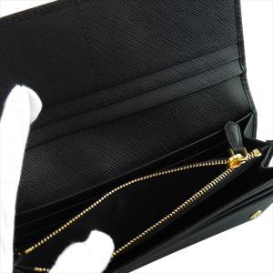 PRADA プラダ 財布サイフ 1MH132 F0002 NERO ZTM SAFFIANO FIOCCO パスケース付き二つ折り長財布 ブラック|at-shop|05