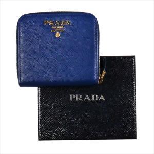 PRADA プラダ 財布サイフ サフィアーノ 二つ折り財布 ブルー/ゴールド 1ML522 F0016 BLUETTE QWA SAFFIANO METAL ORO|at-shop|05