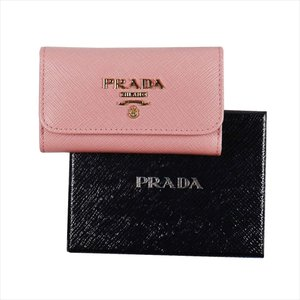PRADA プラダ キーケース ピンク 1PG222 F0442 PETALO QWA SAFFIANO METAL ORO at-shop 03