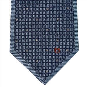 Mila schon ミラショーン ネクタイ 9cm ブルー系 21404color2|at-shop|02