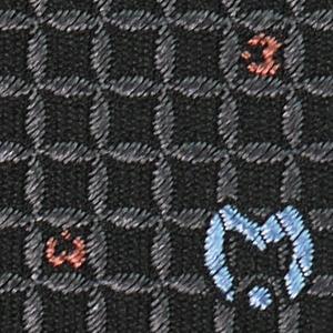 Mila schon ミラショーン ネクタイ 9cm ブラック系 21404color6|at-shop|04